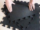 Настил гимнастики спортивной площадки резиновый резвится резиновый настил