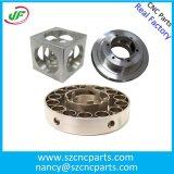 Parte d'acciaio della fresatrice di CNC di precisione/pezzi lavoranti di ricambio macchinario automatico