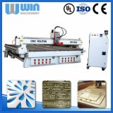 중국 가격 큰 크기 Ww2550 목제 조각 CNC 기계