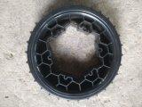 Pneumatico speciale! rotella della gomma piuma dell'unità di elaborazione di 260X60mm per il robot