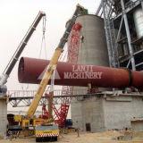 Horno rotatorio de trabajo robusto del caolín con ISO 9001