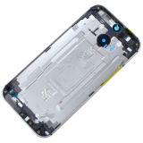 Mobile-/Handy-Gehäuse für HTC eins Deckel-Schwarz-weißes Gold der Batterie-M8