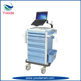 Mobile ABS ECG Laptop Medical Cart