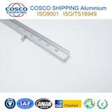 Perfil de aluminio de anodización aplicado con brocha de la protuberancia para el LED