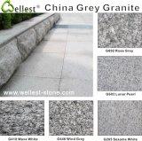 Blanc Gris / Noir Rouge / Rose / Brun / Jaune / Beige poli Tile / / Granite pour planchers et murs Bardage