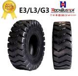 Neumático de H108A L-3/E-3 26.5-25 28pr 32pr OTR