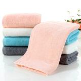 Toalhas de banho de algodão absorventes grossas, toalhas de banho SPA SPA brancas