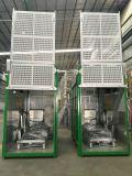 二重ケージの建物の起重機の構築の起重機