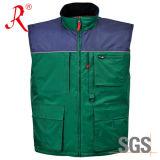 Veste do poliéster do aquecedor do inverno para ao ar livre (QF-804)