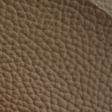 Certificação Z009 do ouro do GV que suga o couro do PVC do couro artificial do PVC da mobília de escritório do sofá do teste padrão do Litchi