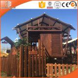Haltbares und Anti-Moiseture Zelt-Haus-hölzerne vorfabrizierte Häuser und Landhäuser durch chinesischen hölzernen Haus-Lieferanten