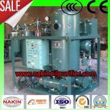 Purificador de petróleo eficaz do vácuo de Ty, purificador de petróleo da turbina