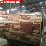 El color de Camelsteel cubrió la bobina de acero PPGI para el material de construcción