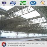 Azotea de la estructura del braguero del tubo de acero para el ferrocarril