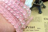5 8 10 12 14mm 분홍색 로터스 결정의 둘레에 Wholsesale 원석 자연적인 석영은 끈을 구슬로 장식한다