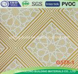 Azulejos de colores populares de techo de yeso de PVC