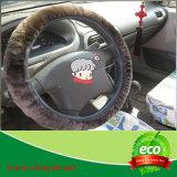 Coperchio genuino del volante dell'automobile della pelle di pecora