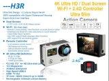 4k mini videocamera portatile di azione di sport DV 30m Dving 2.0