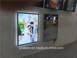 LED interior anuncios muestra Magic Mirror Lightbox