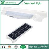 7W keine Notwendigkeit, die erschwingliches helles Solarparken-Licht verdrahtet