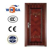 Winga populaire vendant la porte en acier en métal de garantie (W-S-131)