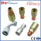 Adaptateur d'une seule pièce hydraulique de Fitting& d'acier du carbone d'acier inoxydable