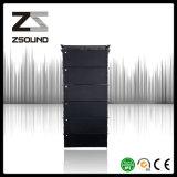 Se dobla la línea FAVORABLE altavoz audio de 12 pulgadas del neodimio de Coxial del sistema de sonido del altavoz