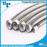 Smoothbore гибкий рукав тефлона оплетки Hose/SAE100 R14/PTFE нержавеющей стали