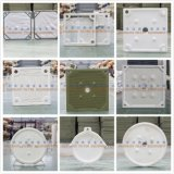 Placa de filtro da alta temperatura de Rpp de la fibra de vidrio