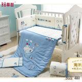 100% algodón bordado bebé ropa de cama conjuntos