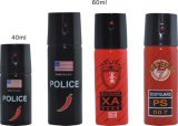 Spray au poivre en gros d'autodéfense (séries d'écart-type)