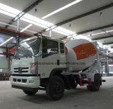 4X2 구체 믹서 트럭 새로운 디자인 판매를 위한 트럭 5 톤 시멘트 믹서