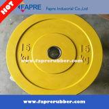 Piatti del peso/attrezzature Bumper di gomma olimpici di ginnastica