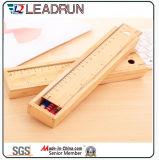 Scatola di presentazione di plastica impaccante del contenitore di imballaggio della casella della penna della visualizzazione del documento della casella della penna del regalo della matita di legno (YSN10)