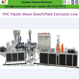 ASA PVC 2 층 기계를 만드는 물결 모양 장 압출기