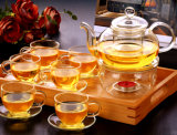 POT di vetro di vetro dell'articolo da cucina degli apparecchi di tè della cristalleria di vetro dell'insieme