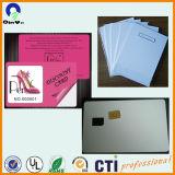Strato di plastica della carta di credito del PVC di stampa del getto di inchiostro della radura di A4 210*297mm