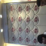 cuir mou décoratif d'unité centrale de Roolls de mur 3D de panneau de panneau acoustique de décoration