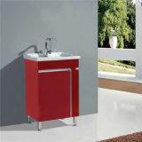 PVC ereto do gabinete de banheiro do assoalho do projeto simples
