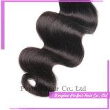 Extensão ondulada bonita do cabelo de 100 Virgin melhor