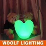 고품질 LED 선물 빛 LED RGB 심혼 빛 LED 테이블 램프 빛