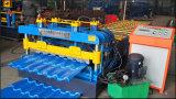 Rolo vitrificado da telha que dá forma à máquina, vitrificada telhando a máquina do Rollforming da folha