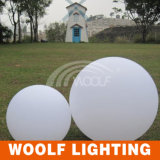 Ampoule extérieure de bille d'éclairage LED avec l'éclairage solaire intrinsèque