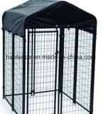 Schwarzes Farben-Puder oder Kurbelgehäuse-Belüftung, die im Freien Hundehundehütte/Hunderahmen beschichten