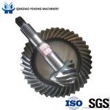 BS5028 9/41 정밀도 금속 나선형 기어 트럭 후방 드라이브 차축은 Metel 주문을 받아서 만들어진 나선형 비스듬한 기어일 수 있다