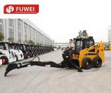 Rad-Ladevorrichtungs-Schienen-Ochse-Ladevorrichtungs-Minikipper-Löffelbagger mit Verkaufs-Rotluchs-Kasten des Hobel-Ws75 bestem