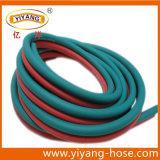 Mangueira dupla flexível da alta qualidade do PVC da máquina de soldadura
