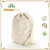 L'OEM entretiennent le sac fait sur commande imprimé promotionnel de toile de coton d'emballage d'achats de cordon de bride