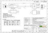 Schnellkabel für Huawei P9, UL Safety Line, UL2725