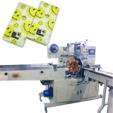 Serviette-Gewebe-Verpackungsmaschine mit dem Pocket Gewebe, das Ballenpresse einwickelt